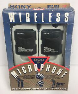 Sony WCS-990 Wireless Microphone System 900 MHz Brand NEW Open Box