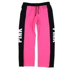 Victoria's Secret Pink Sweatpants Boyfriend Fit Lounge Pant Graphic Vs New Nwt