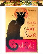 MAGNET LA TOURNEE DU CHAT NOIR BLACK CAT GATTO NERO PARIS FRANCE STEINLEN