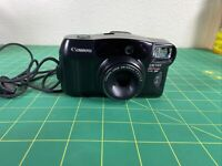 Canon Sure Shot Tele 80 35mm Film Camera With 38/80 Lens Tested works Vintage
