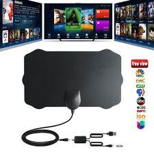 DIGITAL ANTENNA TV HDTV 200 MILES LONG RANGE HQ HDTV INDOOR ANTENA Freeview HD