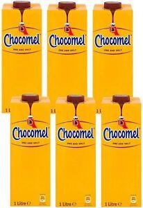 Chocomel Original Dutch Chocolate Milk Drink 1L (Pack of 6)