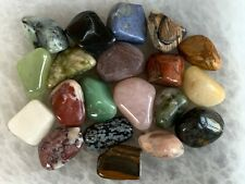 Tumbled Stone Mix, Medium Mix Tumbled Stone, Healing Crystals,Wholesale Bulk Lot