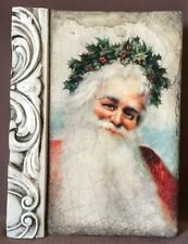Sid Dickens Memory Tile, T-454 Father Christmas - NEW - RETIRED (104)