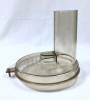 Vtg General Electric Food Processor D1FP1B Lid / Top ONLY Replacement Part