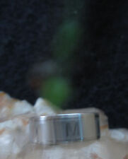 Ring Talisman spell to get a job career haunted letter M sz 8 3/4 employment