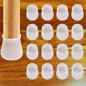 Furniture Silicon Protection Cover - 16 Pcs - Chair Leg Floor Protectors, Round