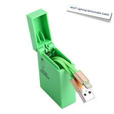 Calidad carcasa mechero retráctil USB datos/carga cable para Iphone 5 , 6&6+