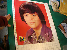 Donny Osmond Poster: young Donny 4 sheet double sided Pop Out 16 exclusive