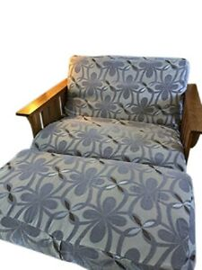 O'Fit Micro Suede Reversible Futon Chair Cover, Twin, Full,  Ottoman Slipcovers