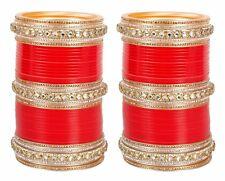 Indian Bridal Choora Indian Chura Set Bangle Wedding Bollywood Suhag Jewelry
