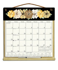 CALENDAR WITH 2018, 2019 & AN ORDER FORM FOR 2020 -FLOWERS ON BLACK