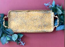 Gold Antique Effect Serving/ Decorative Tray