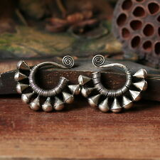 3 Pairs Wholesale ETHNIC JEWELRY TRIBAL MIAO HANDMADE EARRINGS / JE001