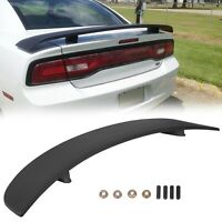 For 2011-2020 Dodge Charger Rear Trunk ABS Factory Spoiler Wing Matte Black