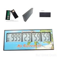 Digital Retirement Countdown Timer Design Accessory Morning Down Timer Unique