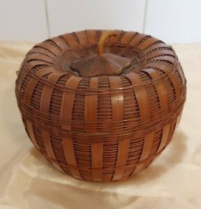 Vintage Basket - Apple Or Acorn?
