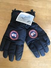 Canada Goose Men's Arctic Down Ski Glove Black Size XL Snow Winter Mitt Pair