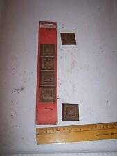 1970 Original Furniture Decorative TRIM Molding Parts Pieces - Corner - #43