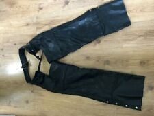 Genuine Leather Chaps Size M