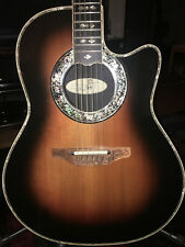 1996 Ovation Custom Legend 1779 Acoustic/Electric Guitar