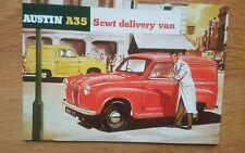 Austin A35 5cwt Delivery Van Vintage Ad Gallery  Postcard COAPC **MINT**