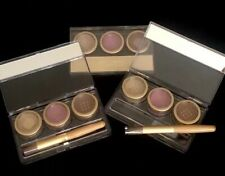 NEW JANE IREDALE 24-KARAT GOLD DUST TRI-COLOR SHIMMER KIT  GOLD•PINK•BRONZE $210