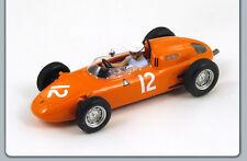1/43 PORSCHE 718 #12 6TH PLACE UNITED STATES GP F1 1963 DE BEAUFORT SPARK MODEL