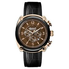 Ingersoll Mens Michigan Quartz Chronograph Watch - I01202 NEW