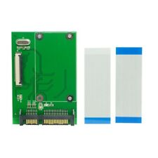 1.8 inch 40Pin ZIF/CE SSD D Hard Disk Drive to 7+15 22 Pin SATA Adapter Co S2G1