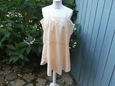 Chemise/Culotte ancienne, couleur Saumon, des années 1930