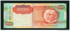 ANGOLA - 1991 10000 Kwanza Circulated Note Serial Number/Condition as Scans (4)