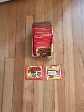 1982 Topps Wacky Packages VERY RARE Partially FULL BOX with 72 PACKS !