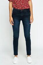 Ladies Summer  Sand wash Denim Skinny Spandex Jeans Trouser Plus Size 8 - 18