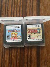 Nintendo 2Pcs The Legend of Zelda:Phantom Hourglass+Super Princess Peach Version