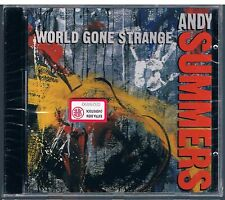 ANDY SUMMERS (THE POLICE) WORLD GONE STRANGE CD F.C.  SIGILLATO!!!