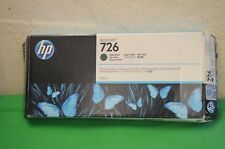 HP 726 Matte Black CH575A Ink Genuine Original Date Jan 2017