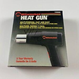 Milwaukee Heat Gun-Model 1220HS 4100 BTU's in New Open Box