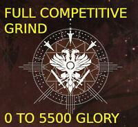Destiny 2 competitive 0-5500