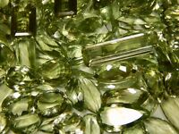 100 CT WHOLESALE LOT NATURAL BRAZIL GREEN AMETHYST CABOCHON UNTREATED GEMSTONE