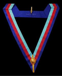 masonic regalia-ROYAL ARCH-ROYAL ARCH PROVINCIAL COLLARETTE (HIGHEST QUALITY)