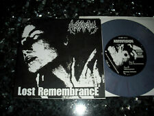 "ACROSTICHON (NED) - Lost Remambrance 7""EP 1991 ;Death Metal ;Asphyx ; No LP"