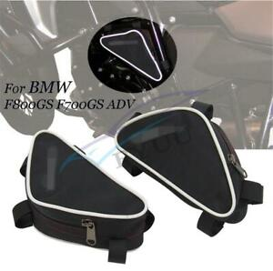 2 Pcs Motorcycle Waterproof Frame Crash Bar Placement Bag For BMW F800GS F700GS