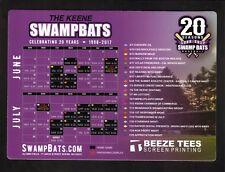 Keene Swamp Bats--2017 Magnet Schedule--NECBL