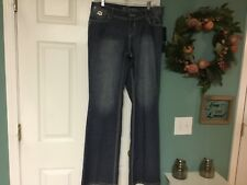 Women's Dereon PEEK A BOO Bootcut Jeans Size 14W