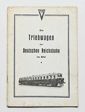 Die Triebwagen der Deutschen Reichsbahn im Bild, Maey, DLA, Darmstadt 1930