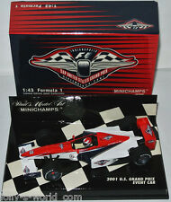 Minichamps Formel 1 Eventcar - 2001 SAP UNITED STATES GRAND PRIX - 1:43