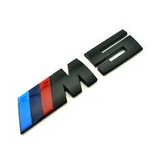 NEW Metal logo Auto Car RearTrunk Emblem Badge Sticker Decal For BMW M power M5