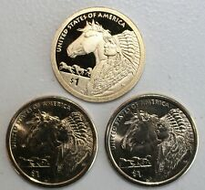 2012 PDS Sacagawea Dollar Native American 3 Coins Trade Routes Golden $1 Lot