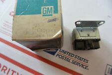 NOS GM Heater Control Relay 77-82 Chevy Pontiac Olds Buick 526896